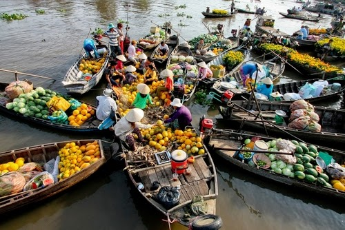 Floating Market Tours Can Tho