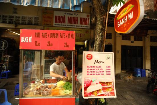 Bánh Mì 25 (Hang Ca, Hoan Kiem) Top 10 best restaurants in Hanoi