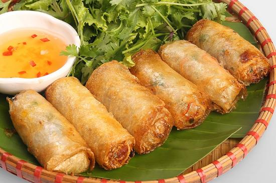 Fried Spring Rolls - Hanoi street food